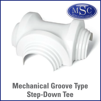 Zeston Mechanical Groove Tee Fitting