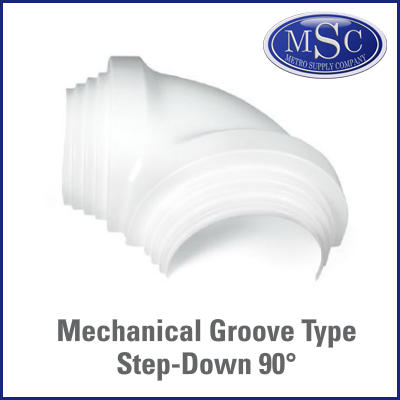 Zeston Mechanical Groove 90º Elbow Cover