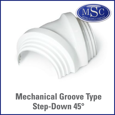Zeston Mechanical Groove Elbow Cover
