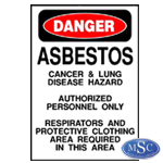 Asbestos Danger Signs