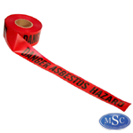 Asbestos Barrier Tape