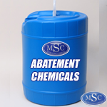 Asbestos Abatement Chemicals varying from mastic removers to encapsulents.
